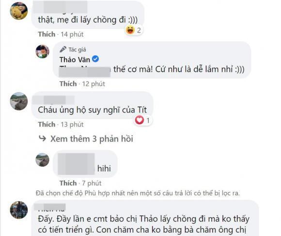 Con trai MC Thảo Vân khuyên mẹ lấy chồng với lý do xúc động-3