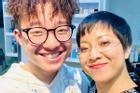 Con trai MC Thảo Vân khuyên mẹ lấy chồng với lý do xúc động