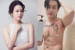 TiTi lộ hình xăm Nhật Kim Anh trên ngực, khó chối hẹn hò?