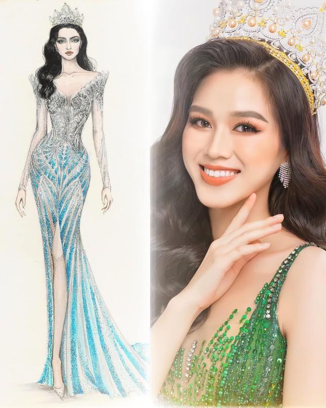 Sau Đỗ Thị Hà, Kim Duyên hé lộ váy dạ hội chinh chiến Miss Universe-1