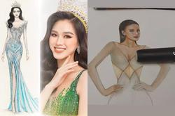 Sau Đỗ Thị Hà, Kim Duyên hé lộ váy dạ hội chinh chiến Miss Universe