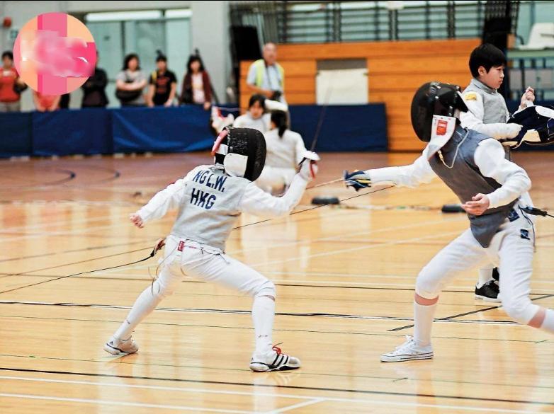 Sao nhí TVB đình đám một thời tham gia Olympic-5
