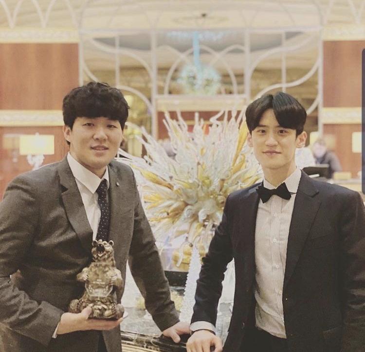 Thời trang và vẻ ngoài nam thần của đoàn Olympic Hàn Quốc-12