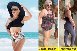 Cụ bà 74 tuổi khiến chị em 'xách dép' trước pha giảm cân ngoạn mục