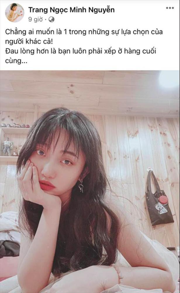 Lương Minh Trang - Vinh Râu lộ dấu hiệu toang hơn 1 tháng trước?-2