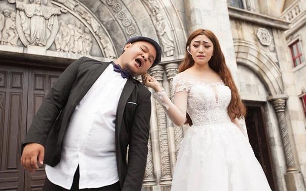 Vinh Râu - Lương Minh Trang từng bị chơi khăm đêm tân hôn-1
