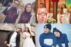 Trước khi ly hôn, Vinh Râu - Lương Minh Trang diện đồ đôi cực ăn ý