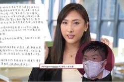 Quá khích vì nam thần Olympic, mỹ nhân TVB phải công khai xin lỗi