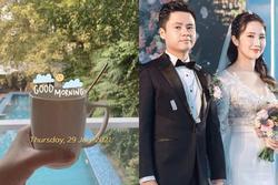 Vợ TGĐ Phan Thành check-in ở background 'thương hiệu' nhà họ Phan