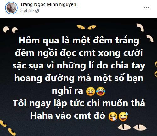 Vợ cũ Minh Râu ngày báo ly hôn, đêm cười sặc sụa-2