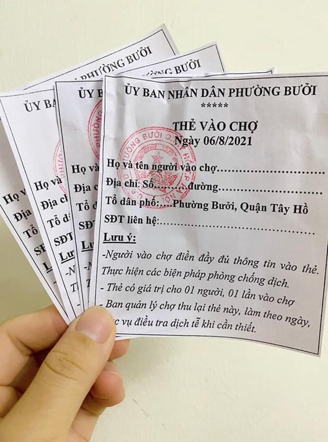 Dùng phiếu đi chợ tại Hà Nội, người mua và người bán cần biết!-1