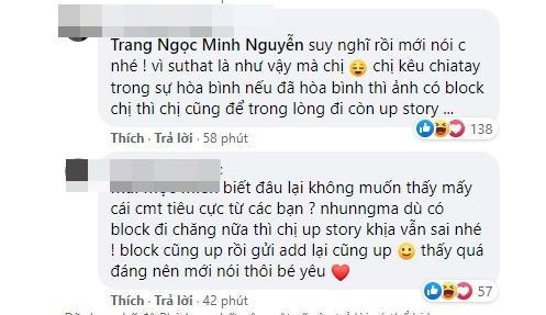 Lương Minh Trang bị chồng cũ block, dân mạng vì sao lại giận cô?-5