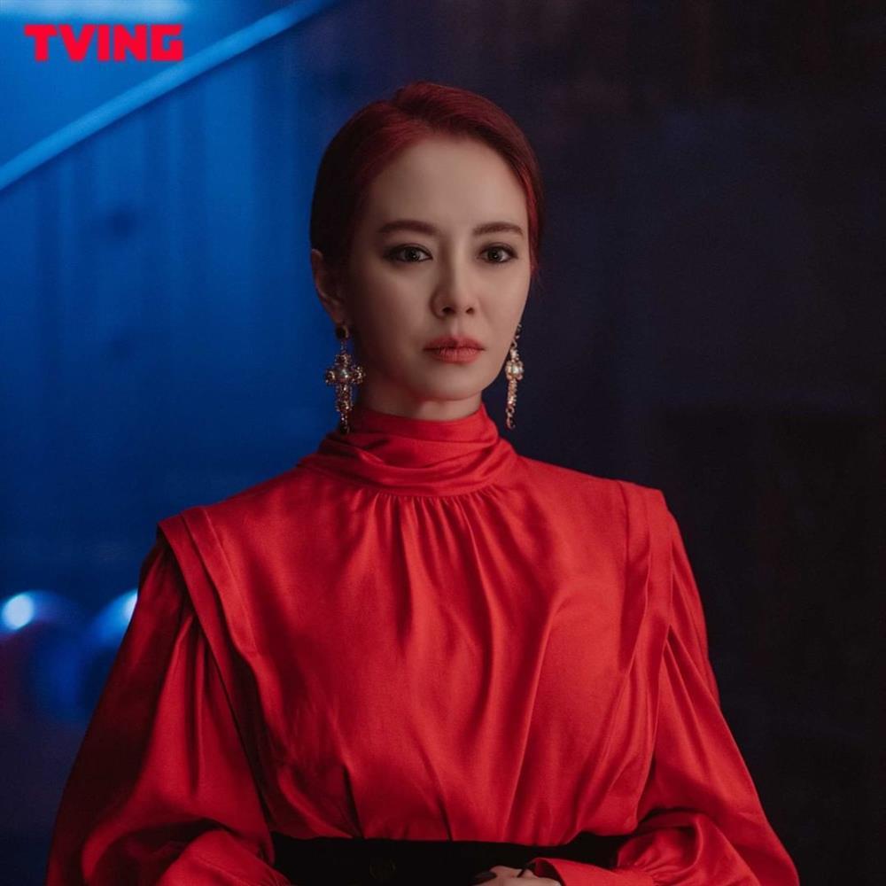 Song Ji Hyo gây choáng khi hóa ác nữ trong phim mới-3