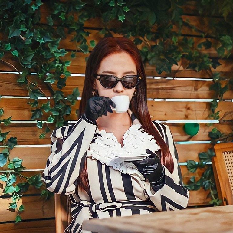 Song Ji Hyo gây choáng khi hóa ác nữ trong phim mới-6