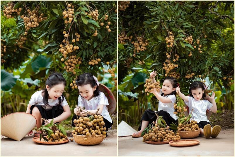2 tiểu công chúa hóa đại sứ quảng bá nhãn Hưng Yên ngọt lịm-3