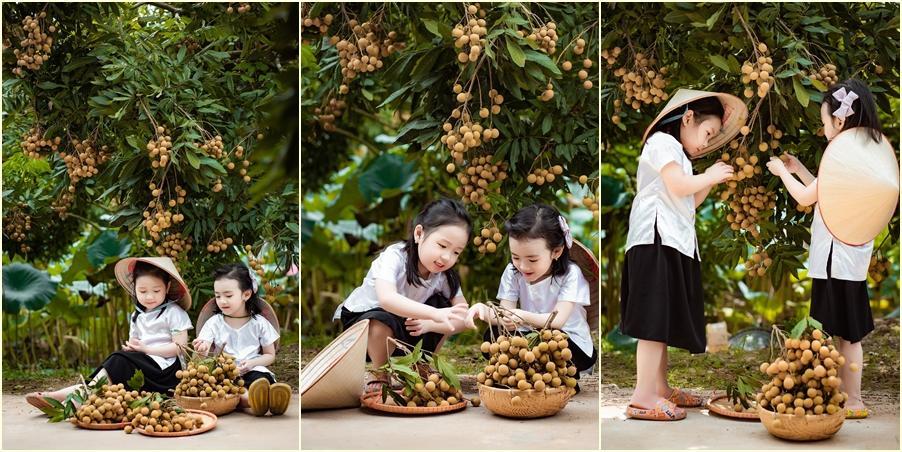 2 tiểu công chúa hóa đại sứ quảng bá nhãn Hưng Yên ngọt lịm-6