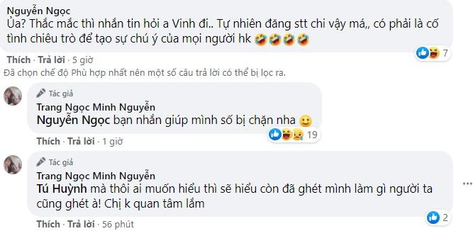 Lương Minh Trang cãi tay đôi với antifan khi liên tục bị công kích-5