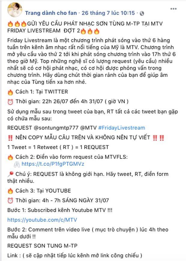 Fan Sơn Tùng M-TP tố fan Jack đạo nhái, giành slot trên MTV quốc tế?-1