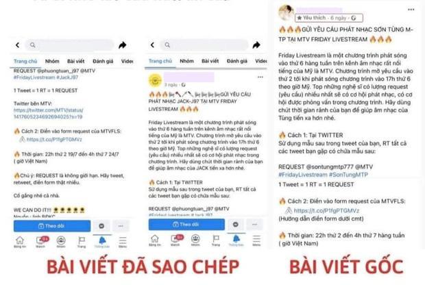 Fan Sơn Tùng M-TP tố fan Jack đạo nhái, giành slot trên MTV quốc tế?-2