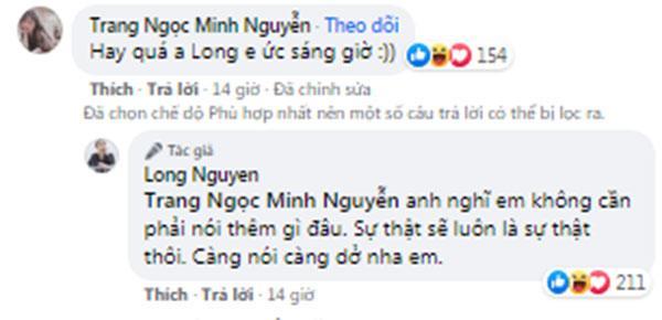 Vinh Râu trực tiếp xin lỗi bạn trai mới của Lương Minh Trang-5