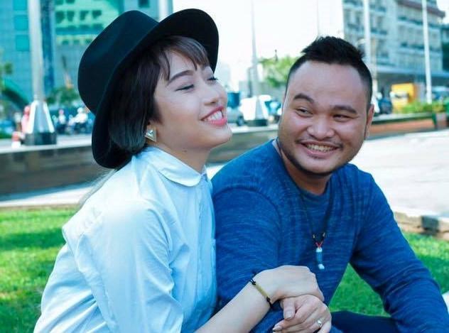 Rầm rộ Vinh Râu khoe ảnh Lương Minh Trang mang bầu 2 năm trước?-2