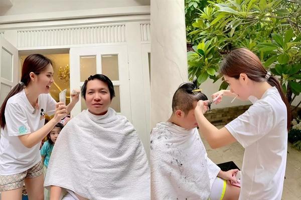 Từ CEO đến tỷ phú chỉ còn cái nịt khi nhờ bạn đời cắt tóc-3
