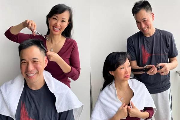 Từ CEO đến tỷ phú chỉ còn cái nịt khi nhờ bạn đời cắt tóc-7