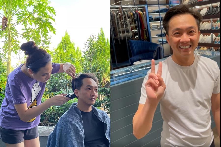 Từ CEO đến tỷ phú chỉ còn cái nịt khi nhờ bạn đời cắt tóc-11