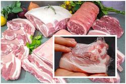 Bí quyết bảo quản thịt lợn mùa dịch, để mấy tháng vẫn tươi ngon