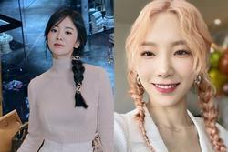 Học cách tết tóc 'hack tuổi' như Song Hye Kyo, Taeyeon