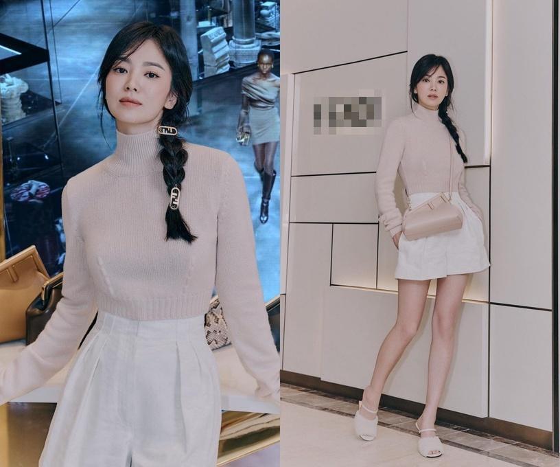 Học cách tết tóc hack tuổi như Song Hye Kyo, Taeyeon-1