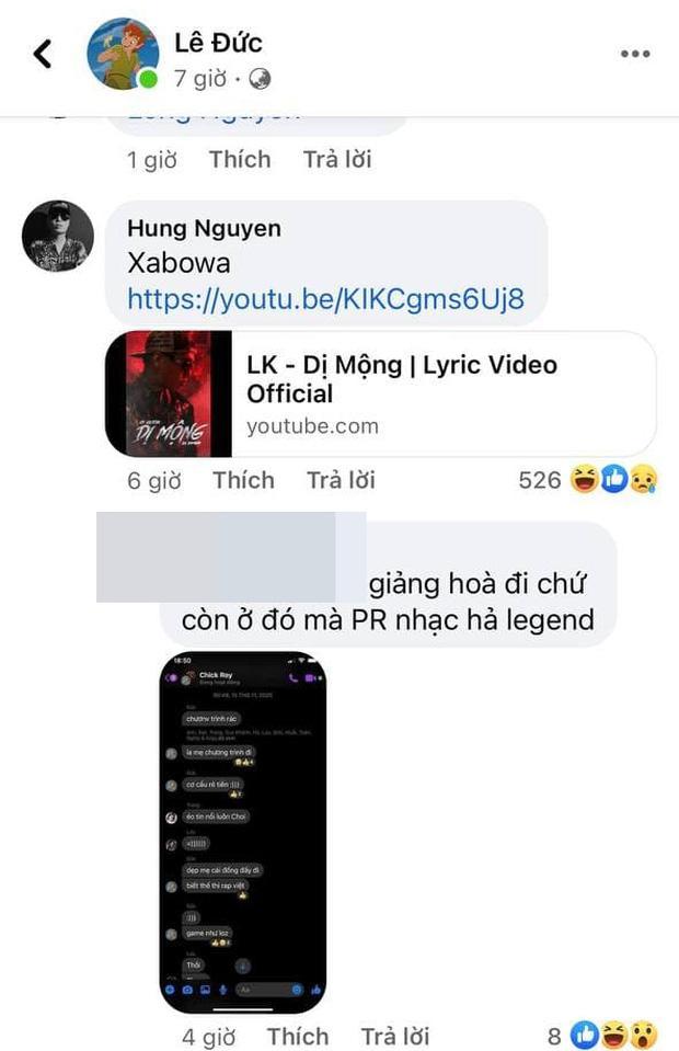 Đoạn tin nhắn nghi vấn RichChoi gọi King Of Rap là chương trình rác, biết thế thi Rap Việt?-2