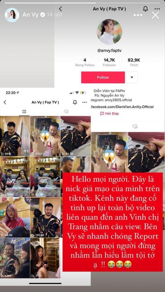 Diễn viên An Vy bị đồn là tiểu tam phá Lương Minh Trang - Vinh Râu-2