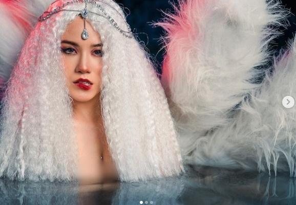 Linh Miu hóa hồ ly tinh, nude toàn tập lộ hình xăm khủng vòng 3-2