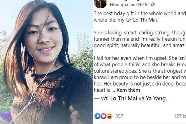 Nghi vấn cô bé HMông Lò Thị Mai và tình mới người Mỹ đã toang-3