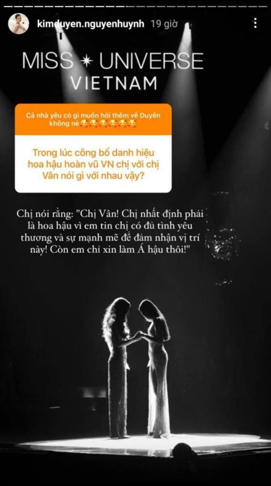 Kim Duyên nắm tay Khánh Vân: Em kể một đằng, chị thuật lại một nẻo?-3