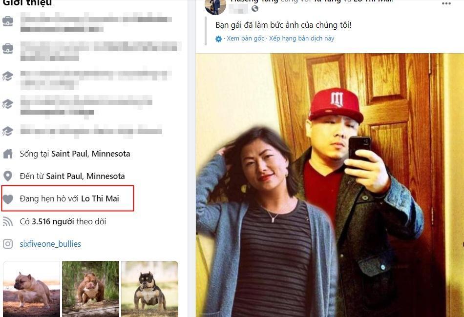 Nghi vấn cô bé HMông Lò Thị Mai và tình mới người Mỹ đã toang-9