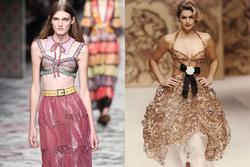 Vì sao người mẫu quốc tế luôn 'thả rông' khi trình diễn trên sàn diễn thời trang?