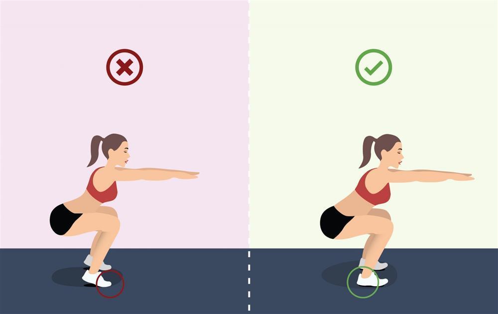 Lệ Quyên squat sai, dễ hỏng cột sống vẫn một mực cãi đúng-8