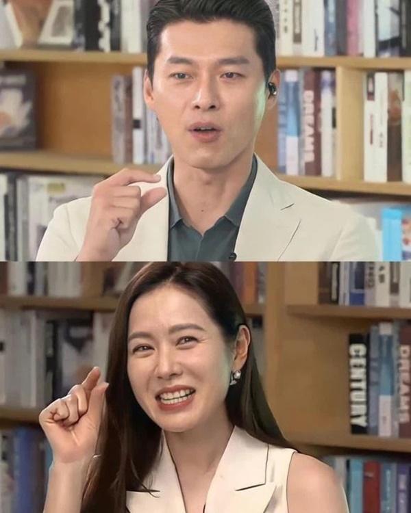 Hyun Bin - Son Ye Jin cùng dự sự kiện, mặc đồ đôi và công khai ôm ấp?-5