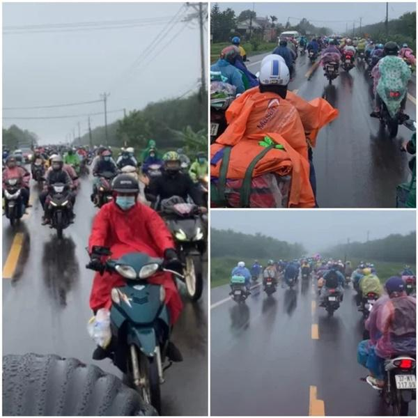 Hành trình 1.400 km chạy xe máy về quê của người nghèo tha hương-1