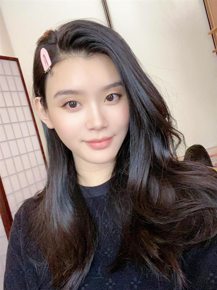 Siêu mẫu Hề Mộng Dao công khai gương mặt quý tử-4