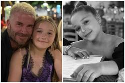Beckham bị chỉ trích vì để con gái mặc đầm hở hang quá đà