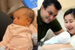 Mới 2 tuần tuổi con của Võ Hạ Trâm đã 'hóng hớt' MV của mẹ