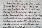Yêu cầu viết 'gương sáng nghìn việc tốt', nhóc tiểu học bẻ lái gắt