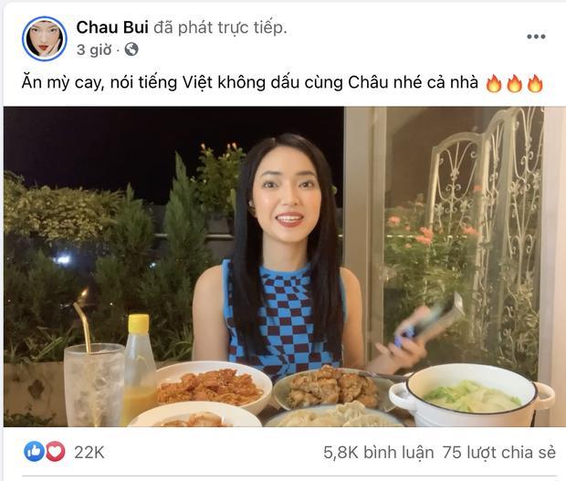 Châu Bùi bị ném đá vì đọc tiếng Việt không dấu, nghe thành thô tục-1