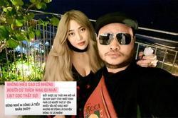 Lương Minh Trang bức xúc nhắc người thứ 3 sau ly hôn Vinh Râu