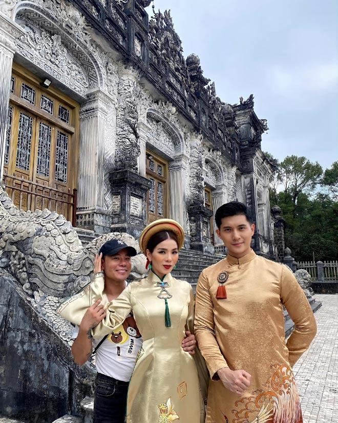 Bộ ảnh Lệ Quyên tình tứ với Lâm Bảo Châu bị nhận xét như 2 mẹ con-1