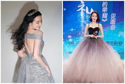 Địch Lệ Nhiệt Ba có nguyên 1 BST váy công chúa khiến hội bánh bèo nhìn mà nghiện