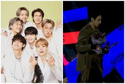 Sân khấu encore của BTS gây tranh cãi: Hát live dở tệ, bỏ cả cúp lẫn đạo cụ